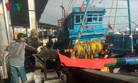 Fishermen set sail in New Year