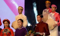 Ao Dai's festival takes place in Ho Chi Minh City