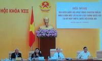 В Ханое открылось совещание уполномоченных по парламентским делам депутатов