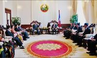 Phó Thủ tướng Lào tiếp  Ban chỉ đạo Tây Nguyên
