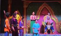 Sân khấu dù kê của đồng bào Khmer ở Nam bộ