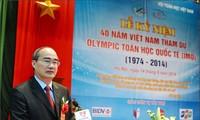Kỷ niệm 40 năm Việt Nam tham dự Olympic Toán học quốc tế