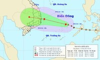 Bão số 4 cách đảo Song Tử Tây khoảng 80km về phía Đông