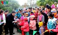 Chủ tịch nước Trương Tấn Sang làm việc tại tỉnh Sơn La