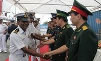 Lực lượng bảo vệ bờ biển Ấn Độ thăm Bộ Tư lệnh Vùng Cảnh sát biển 3