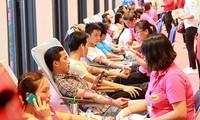 """Chương trình """"Hành trình Đỏ"""" năm nay tiếp nhận khoảng 25.000 đơn vị máu"""
