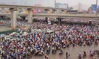 Giải pháp đảm bảo giao thông ở Hà Nội