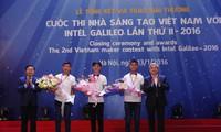 Trao giải Cuộc thi Nhà sáng tạo Việt Nam lần thứ II