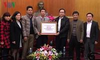 Đài Tiếng nói Việt Nam ủng hộ đồng bào lũ lụt miền Trung