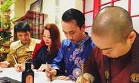 Hội Vườn Việt ở Châu Âu tặng quà Tết cho bệnh nhân gặp khó khăn