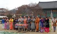 Phật tử Việt Nam tại Hàn Quốc hướng về Tổ quốc và biển đảo quê hương