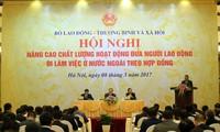 Nâng cao chất lượng hoạt động đưa lao động Việt Nam đi làm việc ở nước ngoài