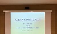 """Hội thảo """"Cộng đồng ASEAN: Cơ hội Hợp tác và đầu tư"""" tại Hy Lạp"""