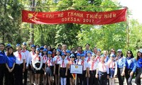 """Hội người Việt Nam tại Odessa tổ chức Trại hè """"Chắp cánh ước mơ"""" - 2017"""