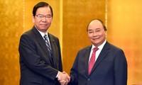 Thủ tướng Nguyễn Xuân Phúc tiếp lãnh đạo một số Đảng của Nhật Bản và tiếp một số doanh nghiệp