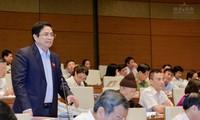 Quốc hội thông qua Nghị quyết về Chương trình xây dựng luật, pháp lệnh năm 2018