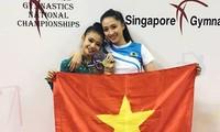 Việt Nam có huy chương vàng ở giải thể dục nghệ thuật trẻ Đông Nam Á