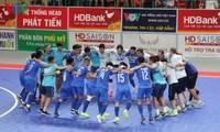 Thái Sơn Nam lên ngôi vô địch giải Futsal HDBank sớm 1 vòng đấu