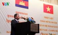 Chiêu đãi trọng thể kỷ niệm 50 năm quan hệ ngoại giao Việt Nam – Campuchia