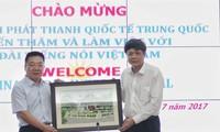 Đài Tiếng nói Việt Nam trao đổi hợp tác với Đài Phát thanh Quốc tế Trung Quốc
