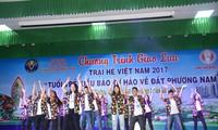 Đại biểu trại hè Việt Nam giao lưu với thanh niên tỉnh Đồng Tháp