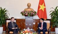 Phó Thủ tướng, Bộ trưởng Bộ Ngoại giao Phạm Bình Minh tiếp Đại sứ Cộng hòa Czech