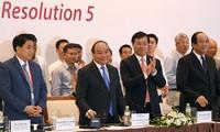 Thực hiện Nghị quyết TW 5: Chính phủ đồng hành cùng khu vực tư nhân