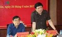Tổng Giám đốc VOV Nguyễn Thế Kỷ làm việc với Tỉnh ủy, UBND tỉnh Long An