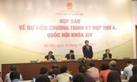 Kỳ họp thứ 4 Quốc hội khóa 14 khai mạc vào ngày 23/10