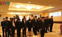Đại sứ quán VN tại Nhật Bản tổ chức viếng nguyên Thủ tướng Phan Văn Khải