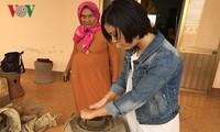 Làng gốm Bàu Trúc, tỉnh Ninh Thuận thu hút đông đảo du khách