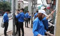 18.000 đoàn viên, thanh niên tham gia Chiến dịch tình nguyện Hành quân xanh