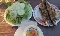 Cá chuồn nướng - món ngon xứ Quảng