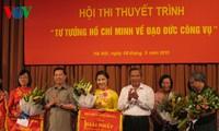 """Chung kết cuộc thi """"Tư tưởng Hồ Chí Minh về đạo đức công vụ"""""""