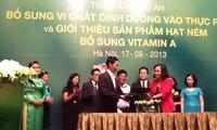 """Triển khai dự án """"Bổ sung vi chất dinh dưỡng vào thực phẩm"""" chăm sóc sức khỏe cộng đồng"""
