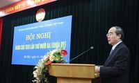 Hội nghị lần thứ 13 Đoàn chủ tịch Ủy ban Trung ương Mặt trận Tổ quốc Việt Nam