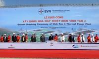 Phó Thủ tướng Hoàng Trung Hải phát lệnh khởi công Nhà máy Nhiệt điện Vĩnh Tân 4