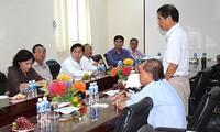 Phó Chủ tịch Quốc hội Nguyễn Thị Kim Ngân làm việc tại Bình Thuận