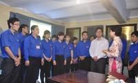 Tuổi trẻ Thủ đô dâng hương tưởng niệm Tổng Bí thư Trần Phú