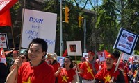 Cộng đồng người Việt tại Canada phản đối Trung Quốc