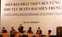 Diễn đàn Phát triển bền vững khu vực duyên hải miền Trung