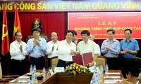 Ký kết chương trình phối hợp công tác giữa Đảng ủy Khối doanh nghiệp Trung ương và Đài TNVN