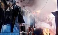 Vụ cháy chợ người Việt ở thành phố Kazan thiệt hại lên tới hàng tỷ ruble