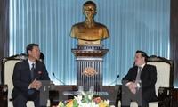 Trưởng Ban Đối ngoại Trung ương Hoàng Bình Quân tiếp Đoàn Hội hữu nghị Triều Tiên - Việt Nam