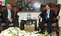 Phó Thủ tướng Vũ Văn Ninh tiếp Thứ trưởng Thương mại Hoa Kỳ