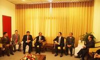 Bộ trưởng Bộ Công an Việt Nam tiếp Phó Tổng Thư ký Văn phòng Chính phủ Hoàng gia Campuchia