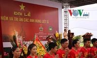 Đại lễ Tưởng niệm và Tri ân các anh hùng liệt sỹ