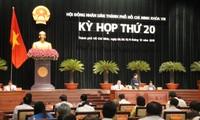Bế mạc kỳ họp lần thứ 20, Hội đồng nhân dân Thành phố Hồ Chí Minh khoá 8