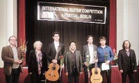 Một số tác phẩm Việt Nam tại các cuộc thi guitar quốc tế tổ chức tại Berlin