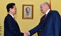 Thủ tướng Nguyễn Tấn Dũng tiếp Bộ trưởng Bộ Nội vụ Nga Vladimir Kolokoltsev